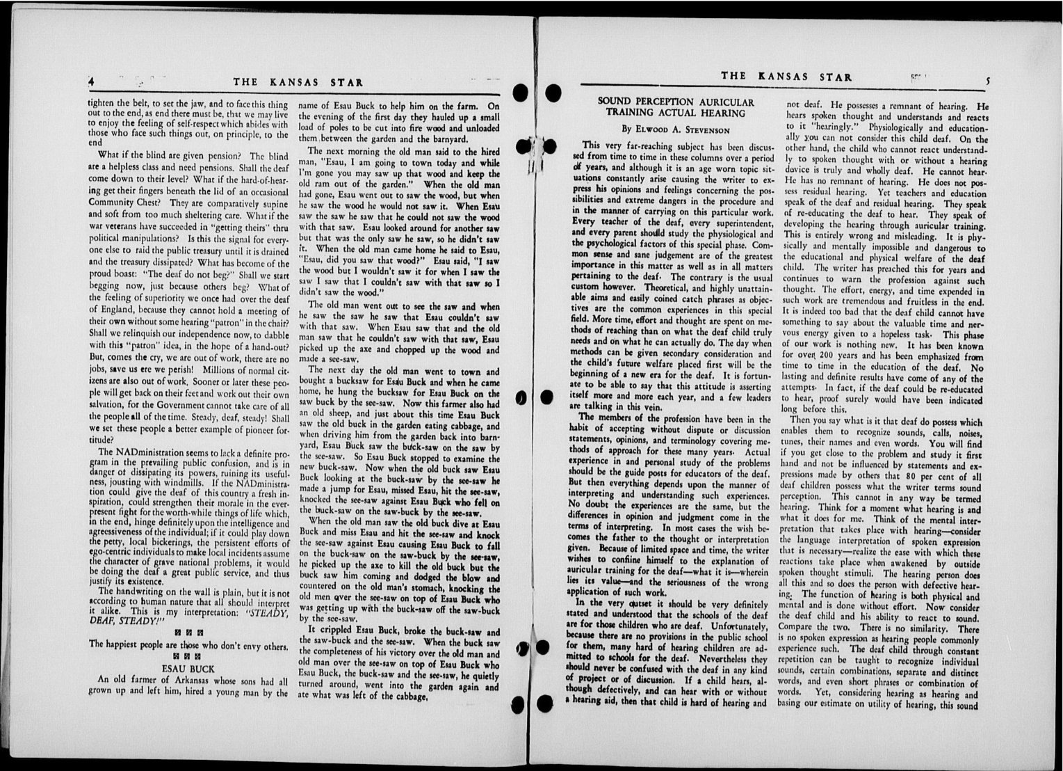 The Kansas Star, volume 50, number 8 - 4-5