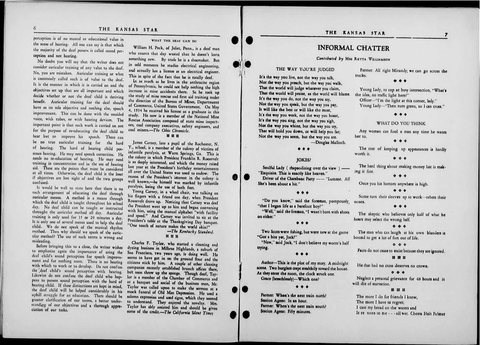 The Kansas Star, volume 50, number 8 - 6-7