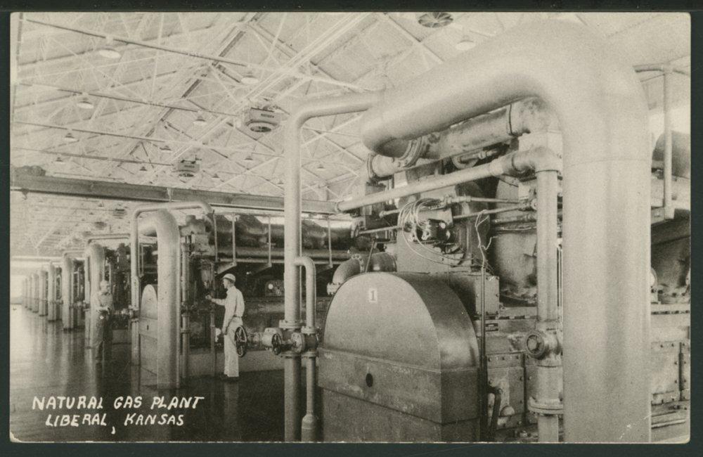 Natural gas plant, Liberal, Kansas