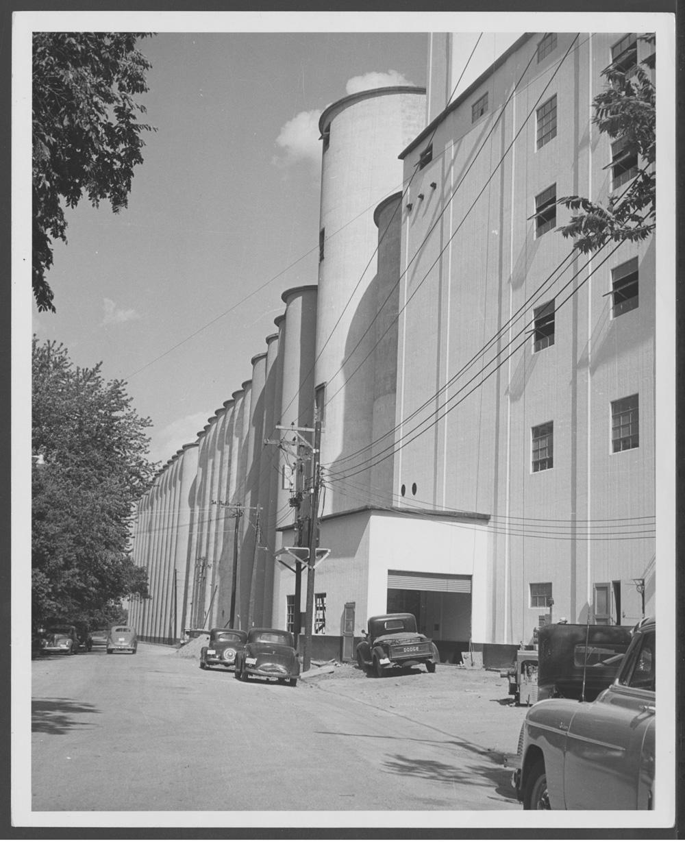 Flour mill & elevator, Abilene, Kansas - 1