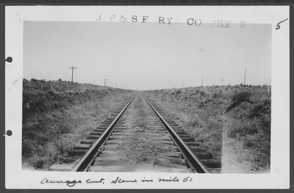 South Plains & Santa Fe Railway Company line - 2