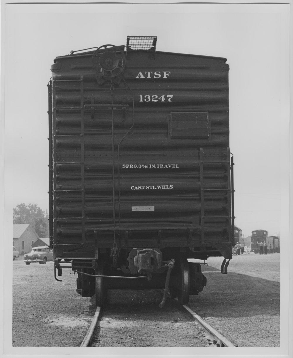 Atchison, Topeka & Santa Fe Railway Company's box car no. 13247 - 1