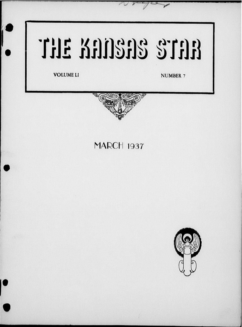 The Kansas Star, volume 51, number 7 - Front cover