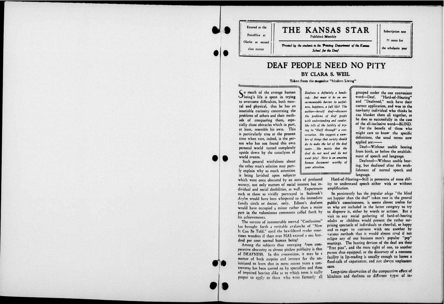 The Kansas Star, volume 51, number 7 - Inside cover-1