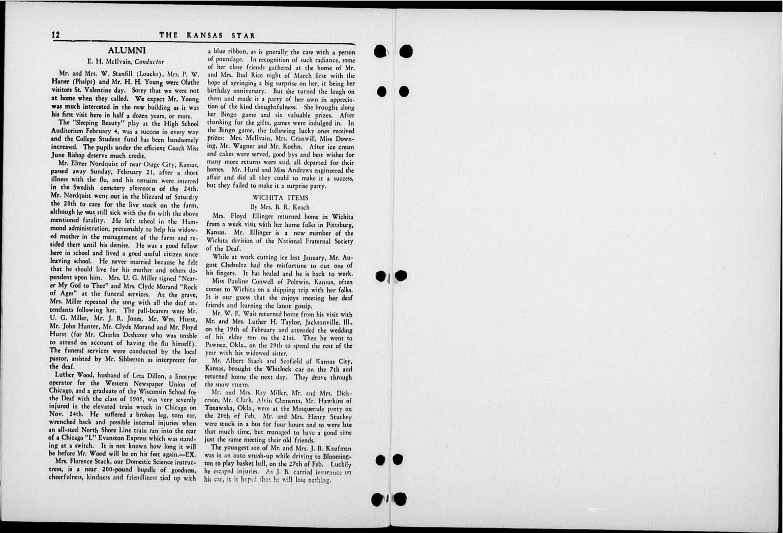 The Kansas Star, volume 51, number 7 - 12-Inside back