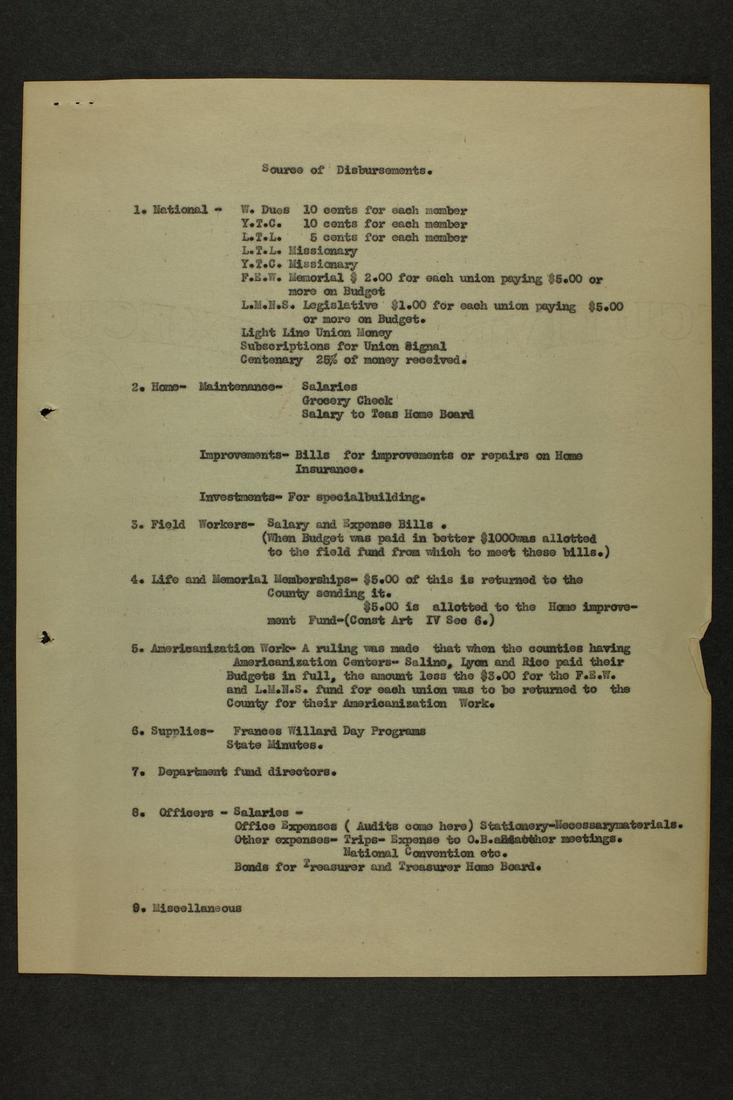 Kansas Woman's Christian Temperance Union permanent records - 6