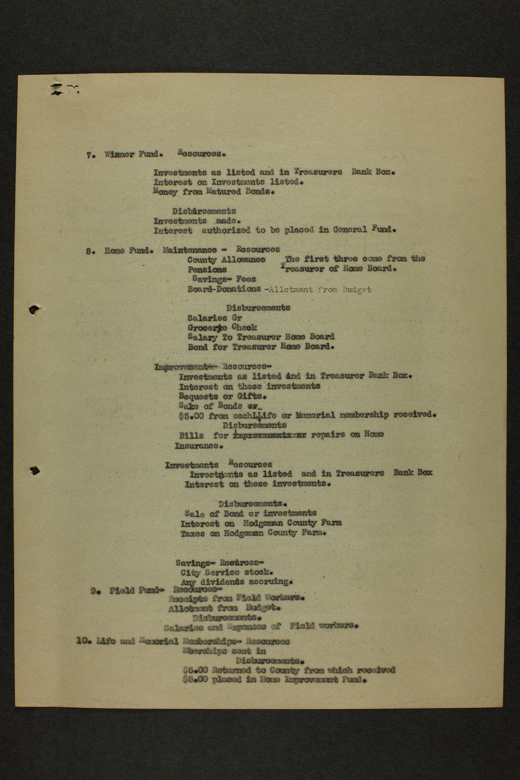 Kansas Woman's Christian Temperance Union permanent records - 9