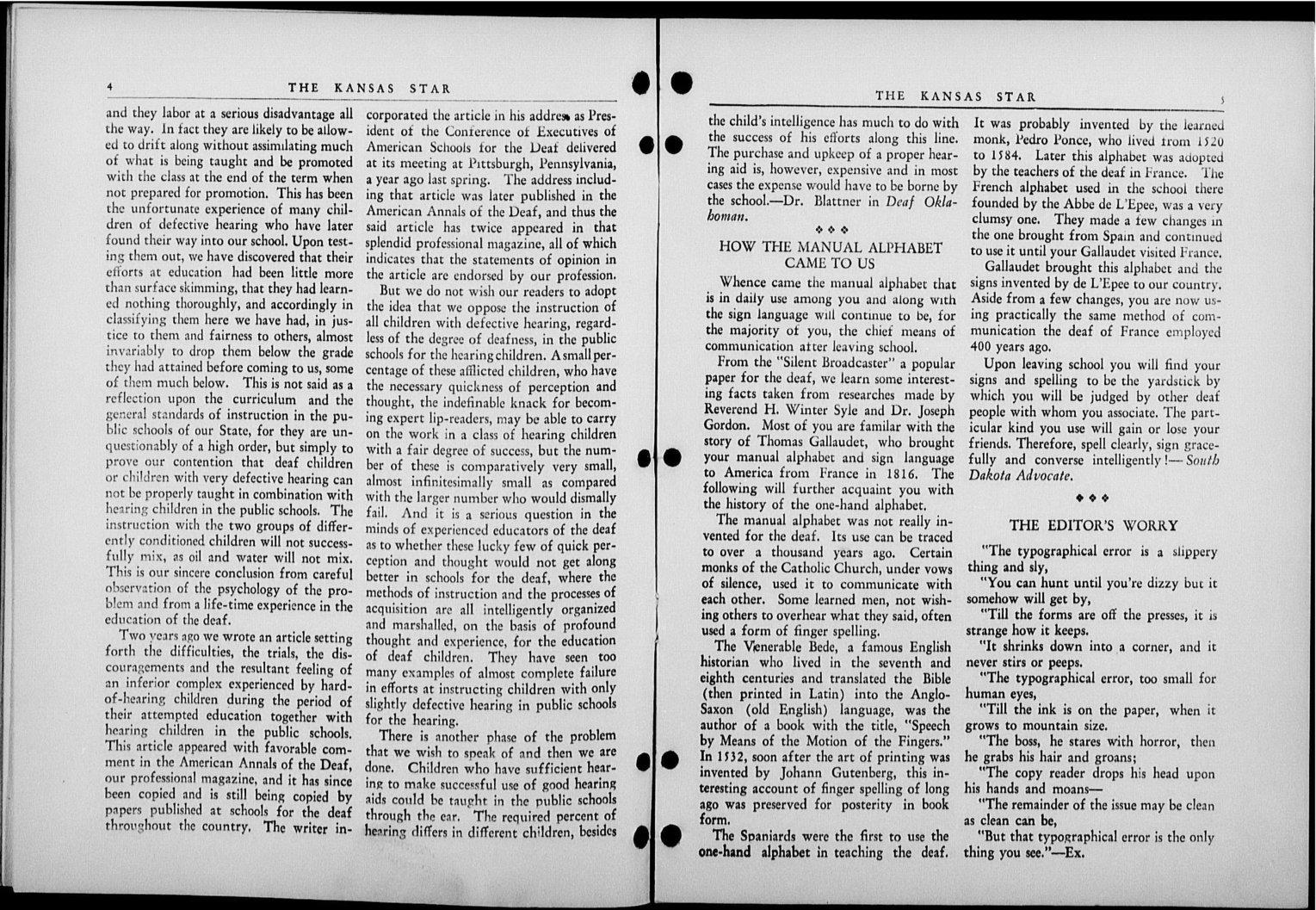 The Kansas Star, volume 52, number 6 - 4-5