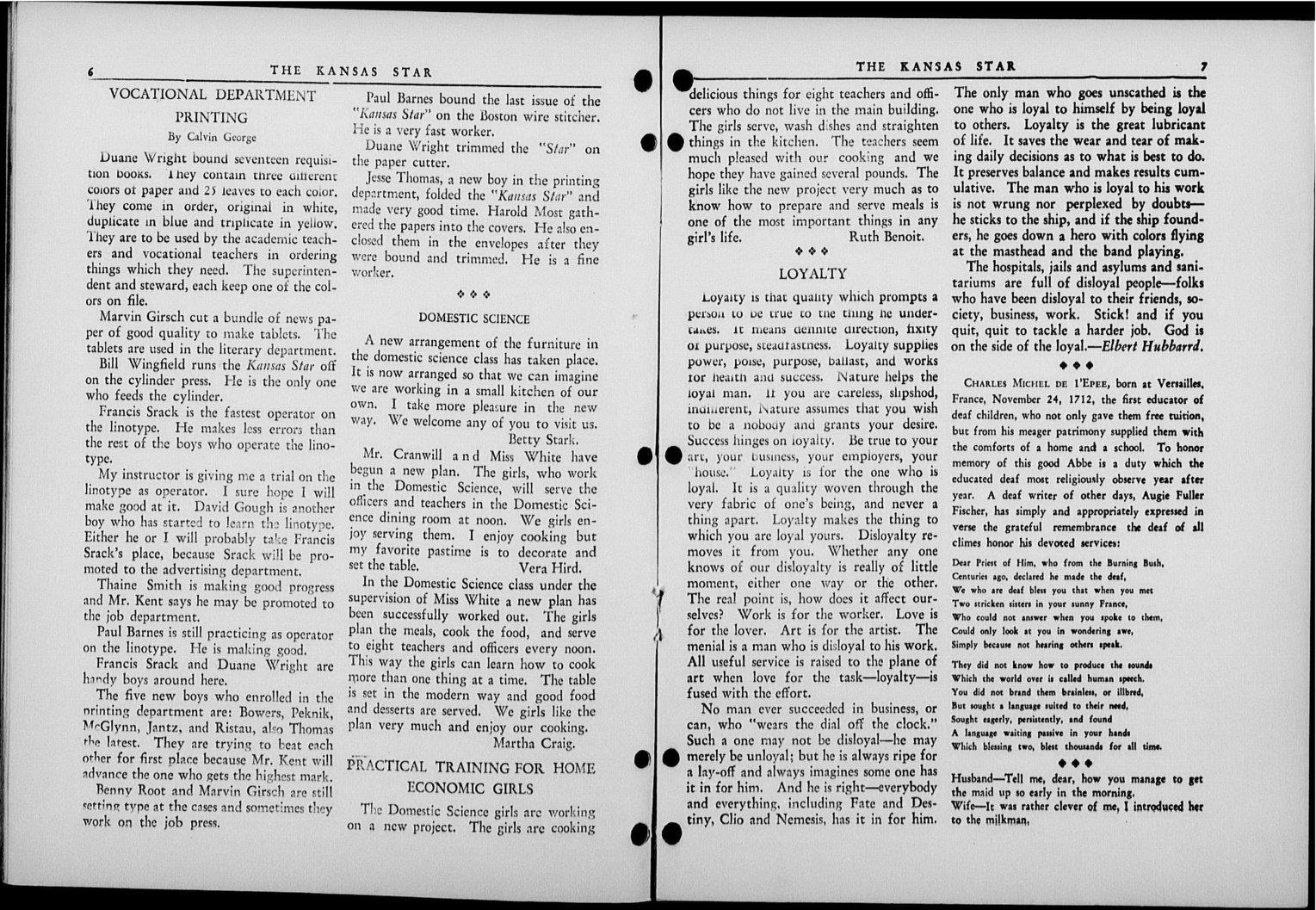 The Kansas Star, volume 52, number 6 - 6-7