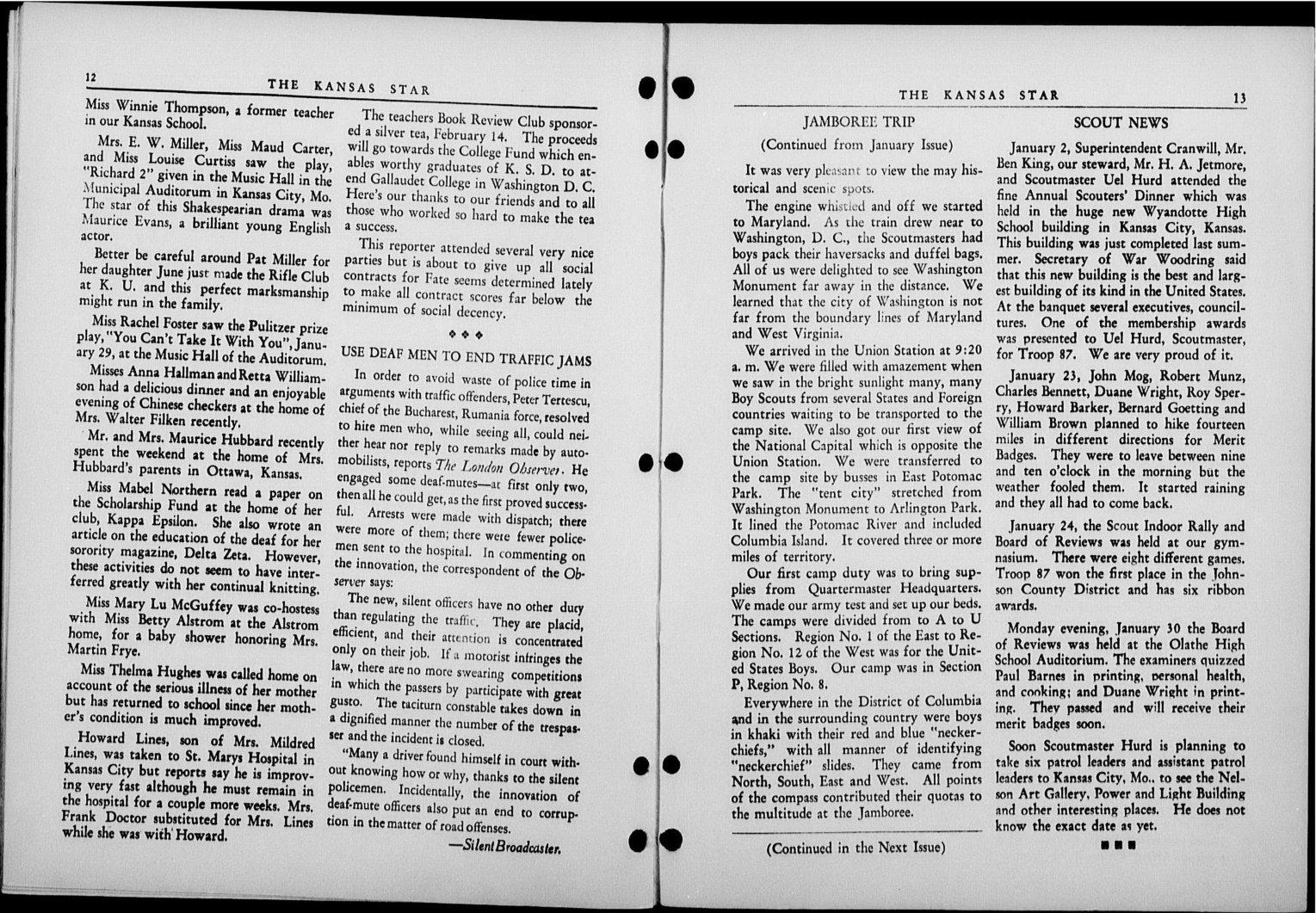 The Kansas Star, volume 52, number 6 - 12-13