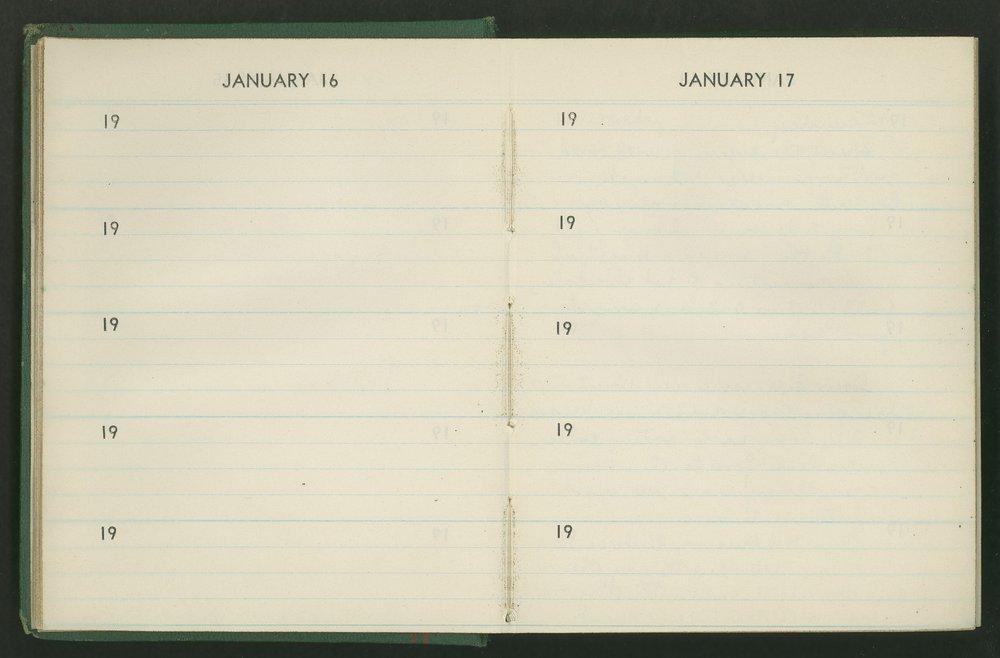 Claire Eva Paine diary - [16 and 17]