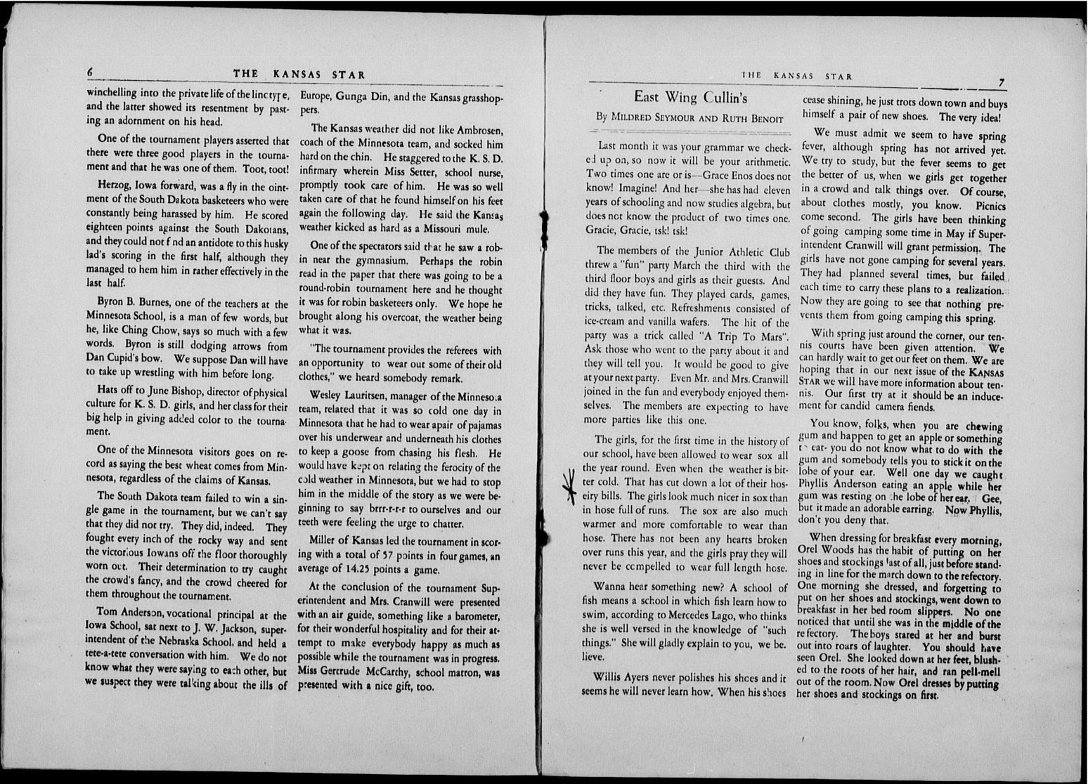 The Kansas Star, volume 52, number 6 - 6-7