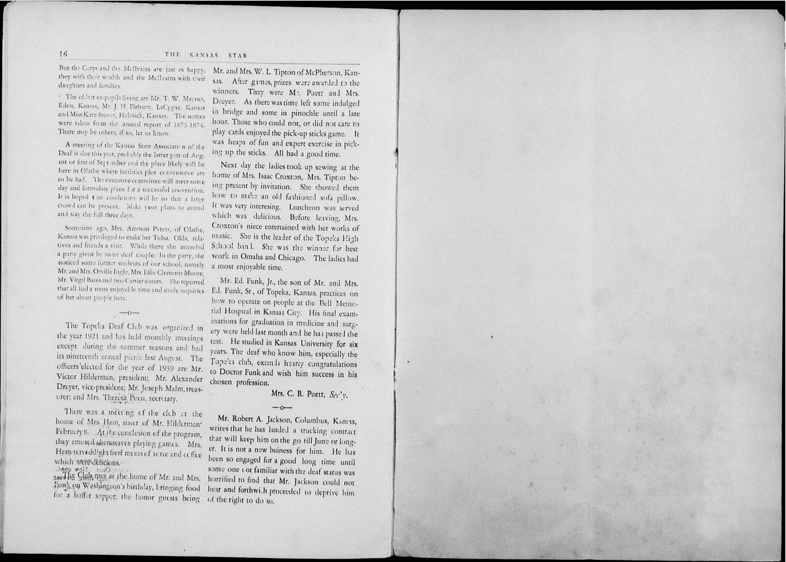 The Kansas Star, volume 52, number 6 - 16-Blank