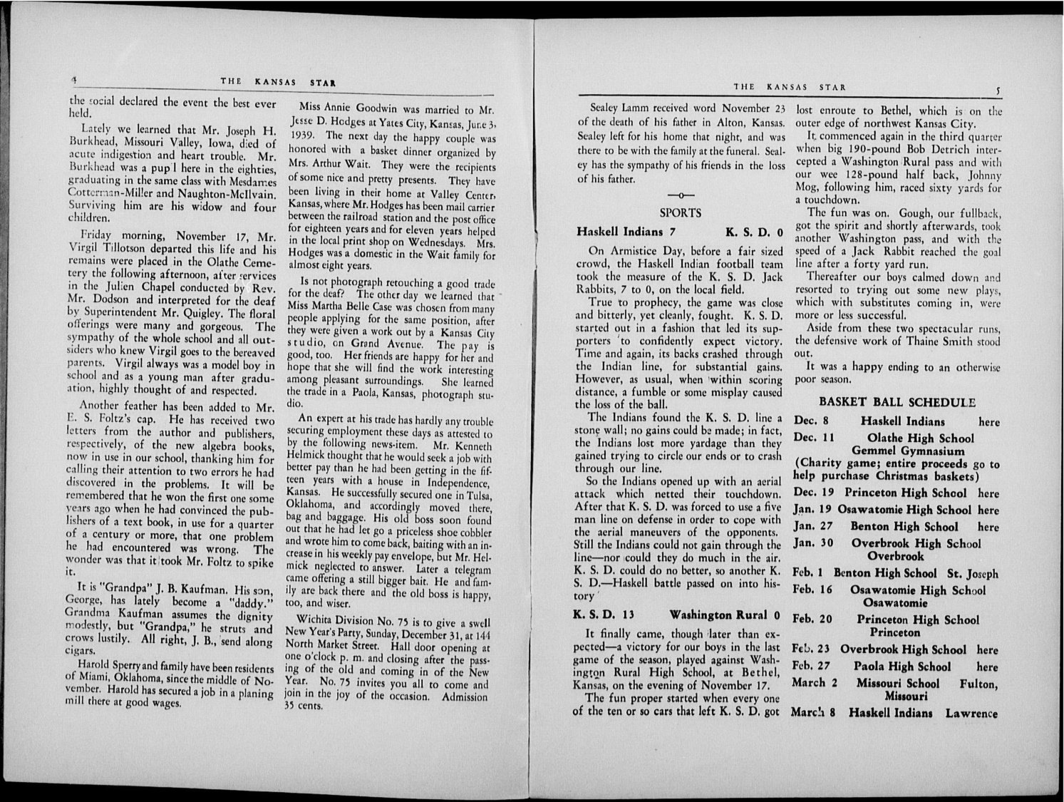 The Kansas Star, volume 54, number 4 - 4-5