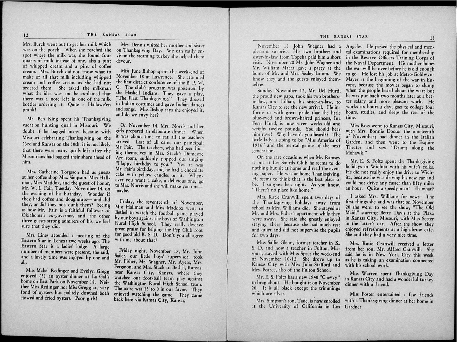 The Kansas Star, volume 54, number 4 - 12-13