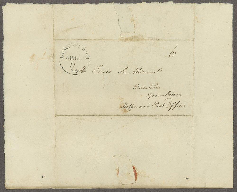 William C. Sigon to Lewis Allen Alderson - 2