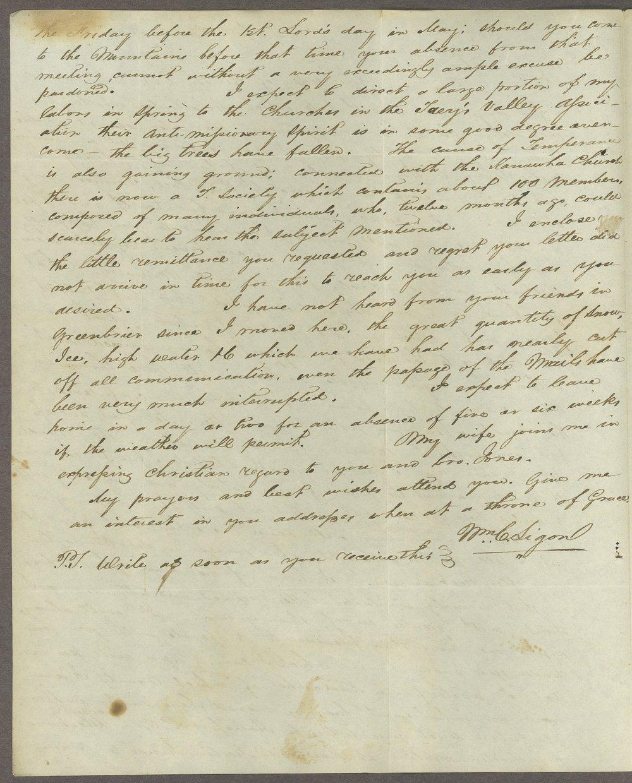 William C. Sigon to Lewis Allen Alderson - 4