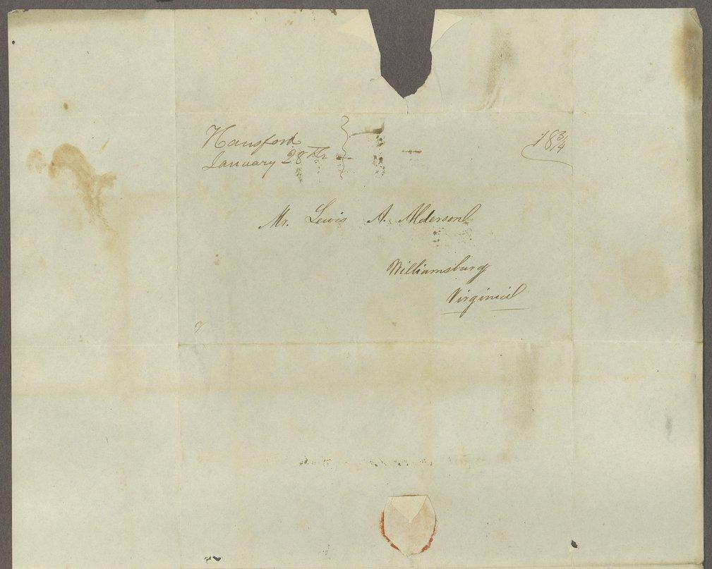 William C. Sigon to Lewis Allen Alderson - 5