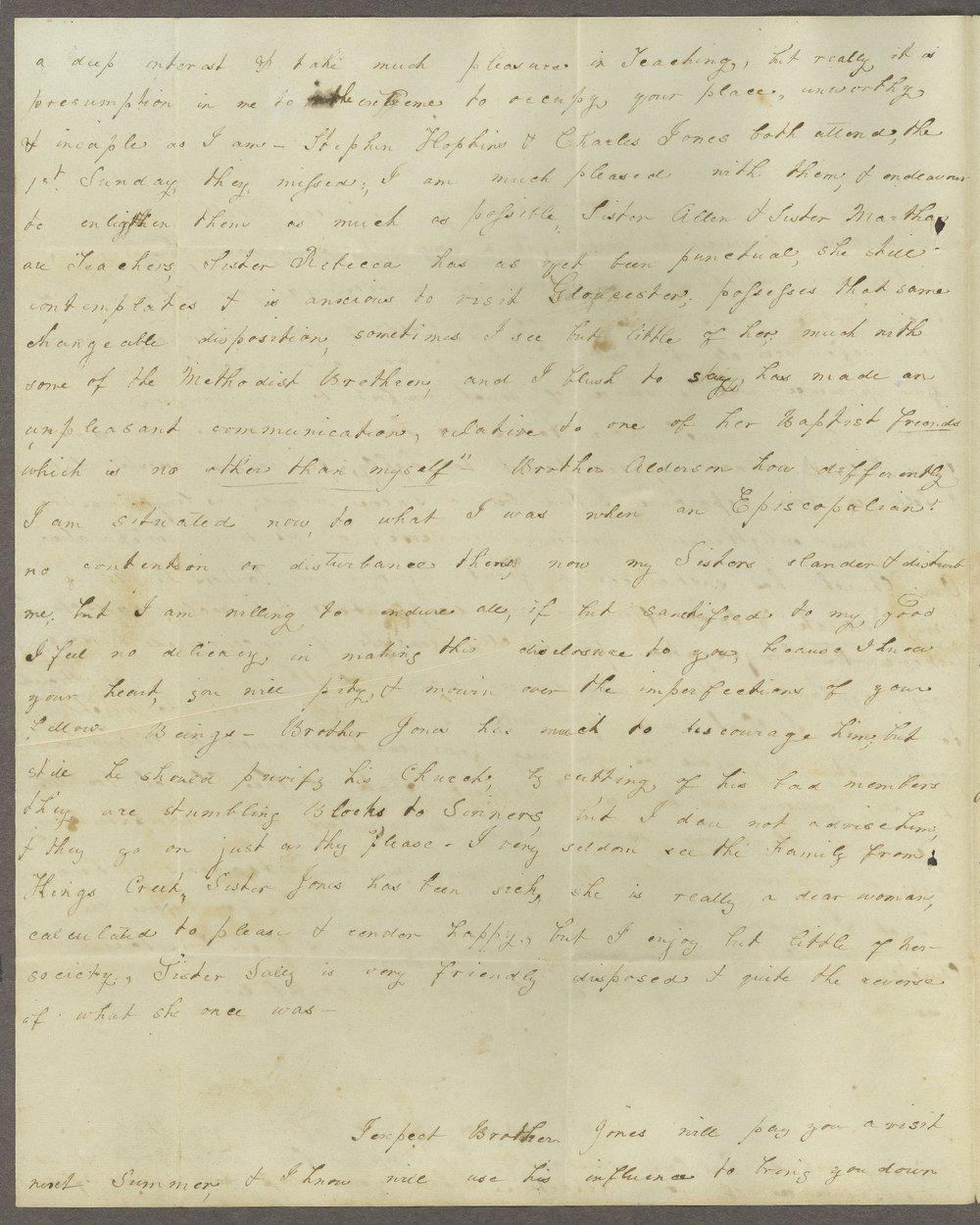 Louisa E. White to Lewis Allen Alderson - 2