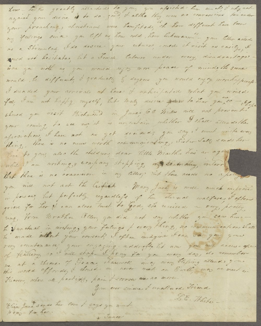 Louisa E. White to Lewis Allen Alderson - 3