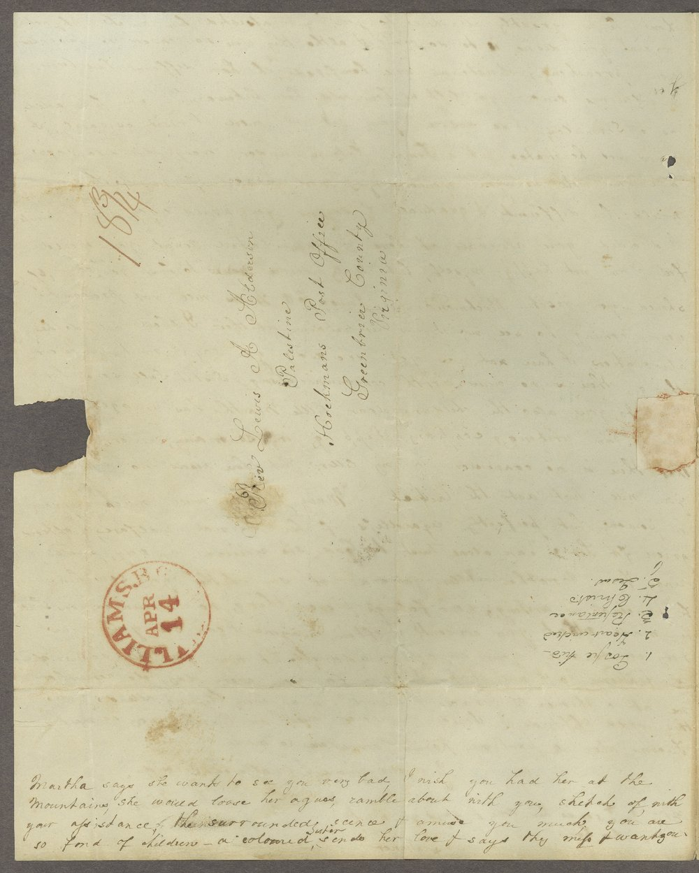 Louisa E. White to Lewis Allen Alderson - 4