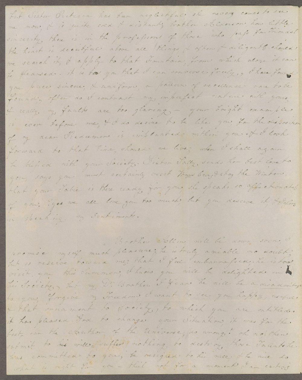 Louisa E. White to Lewis Allen Alderson - 6