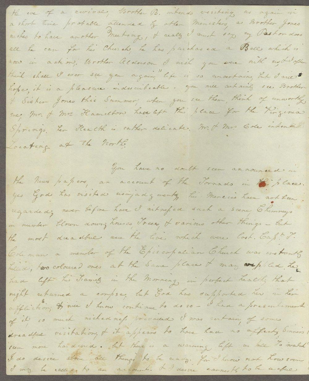 Louisa E. White to Lewis Allen Alderson - 10