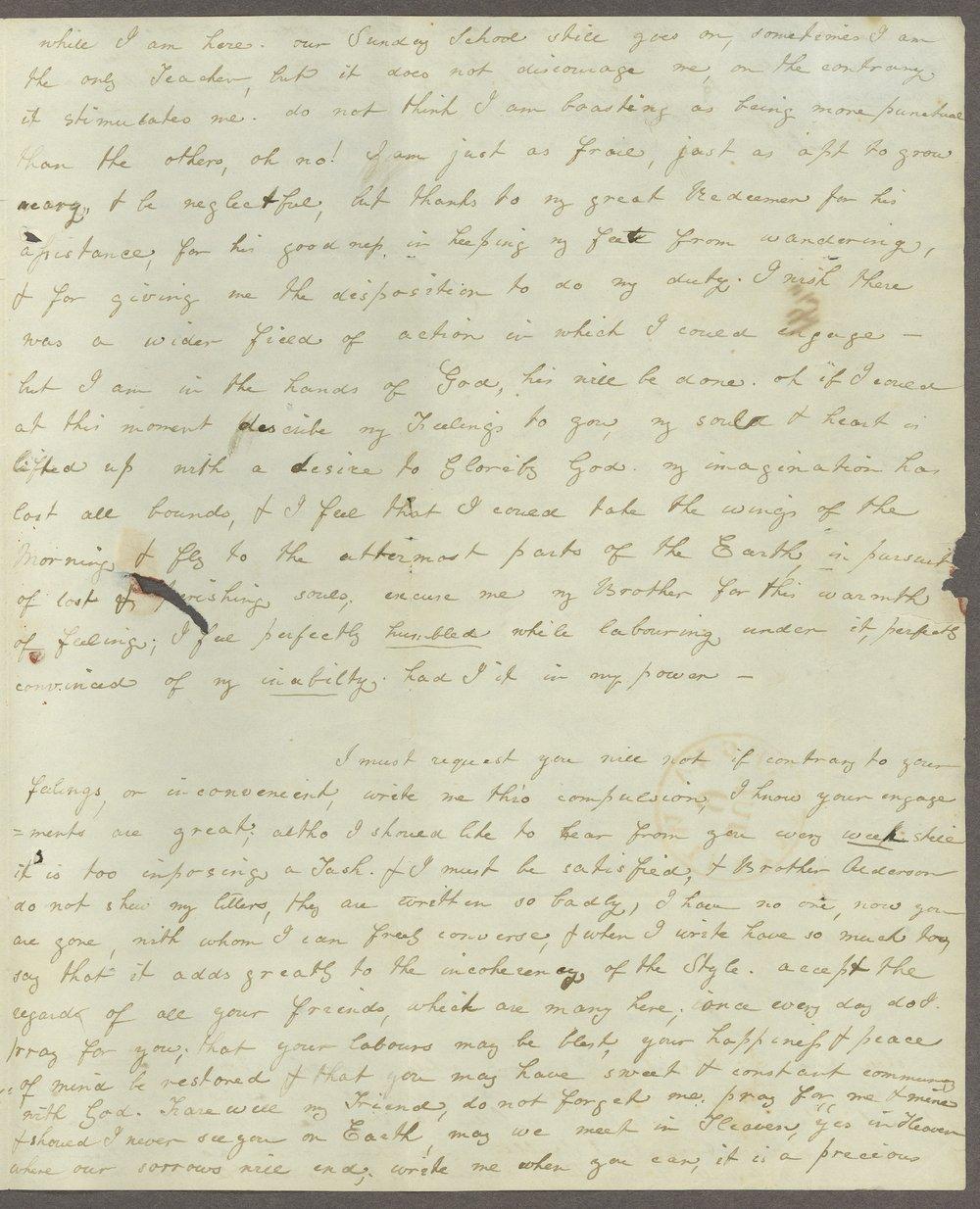 Louisa E. White to Lewis Allen Alderson - 11