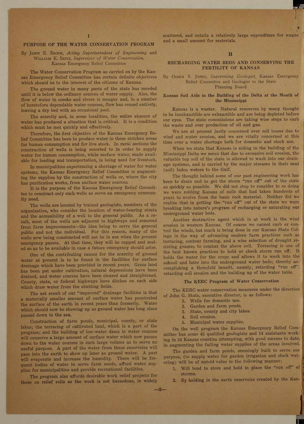 Kansas Emergency Relief Committee, bulletin 89 - 2