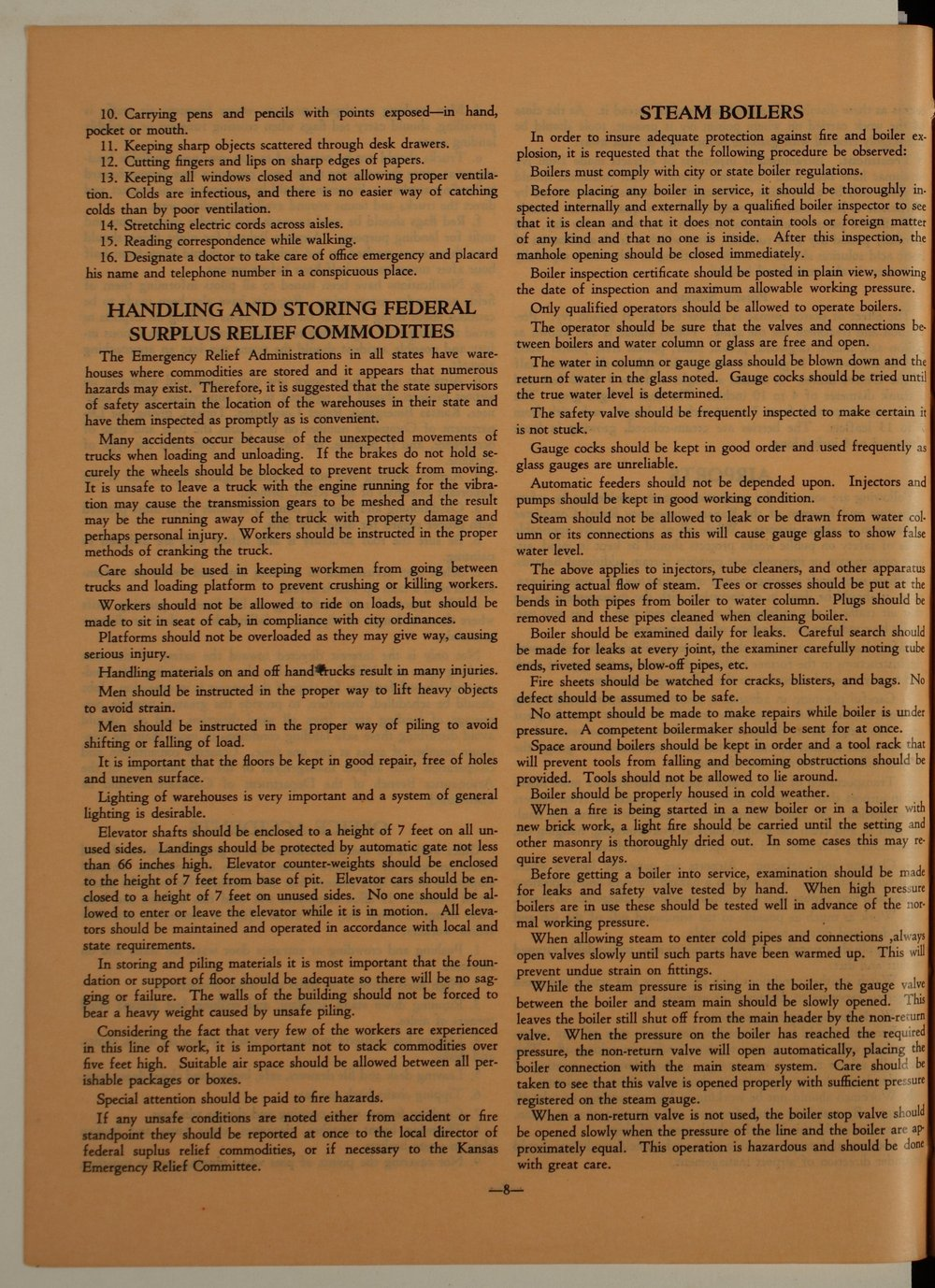 Kansas Emergency Relief Committee, bulletin 105 - 8