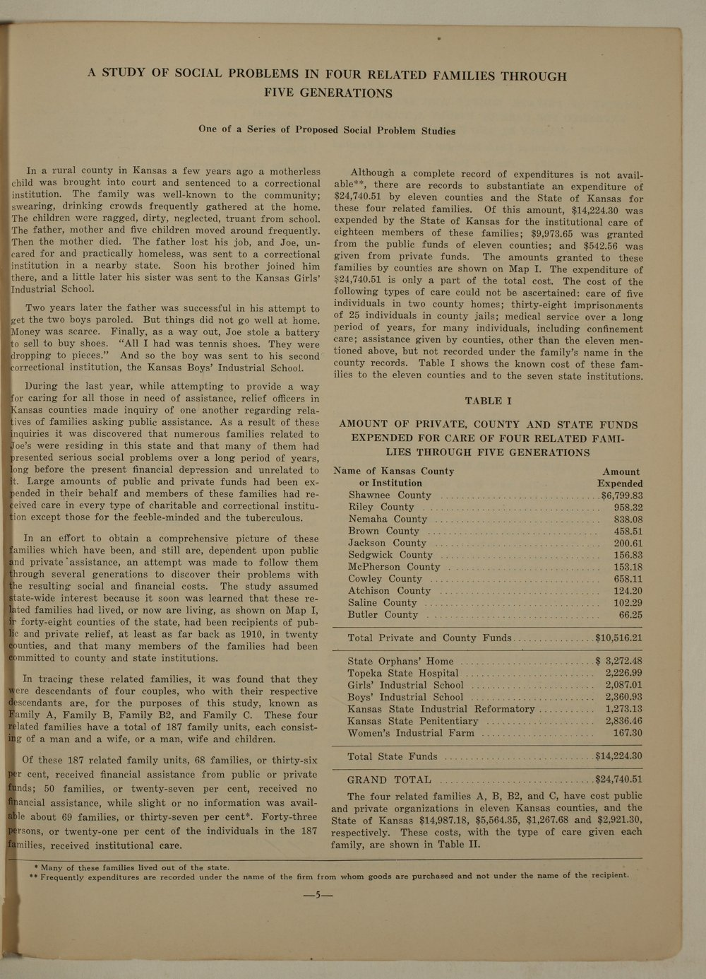 Kansas Emergency Relief Committee, bulletin 167 - 5