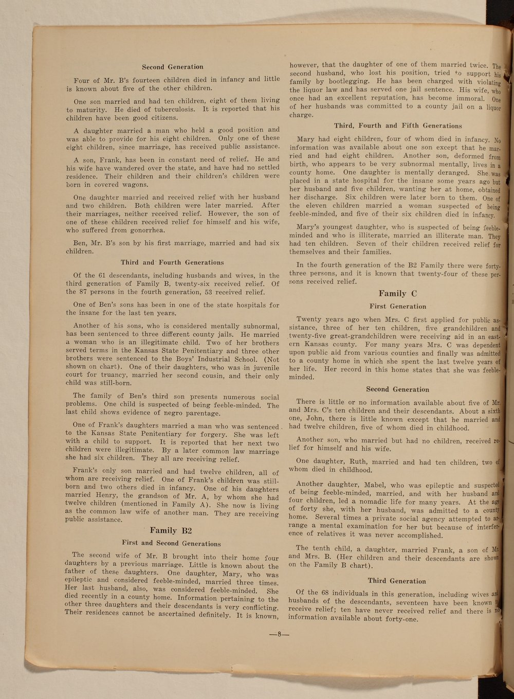 Kansas Emergency Relief Committee, bulletin 167 - 8
