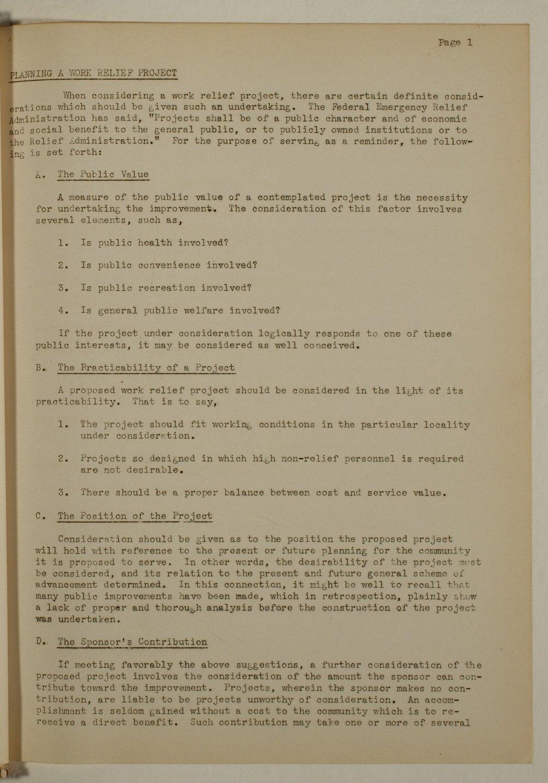 Manual of procedure, engineering department - 1