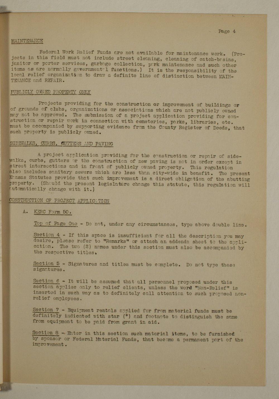 Manual of procedure, engineering department - 4