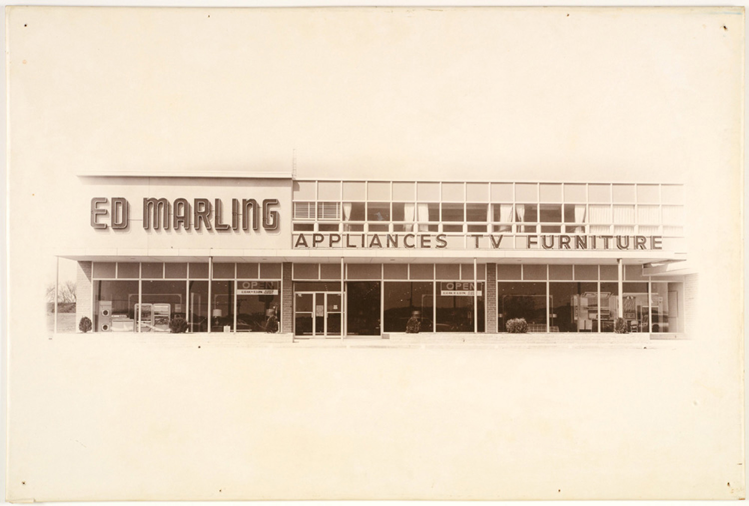 Ed Marling furniture and appliances store in Topeka, Kansas