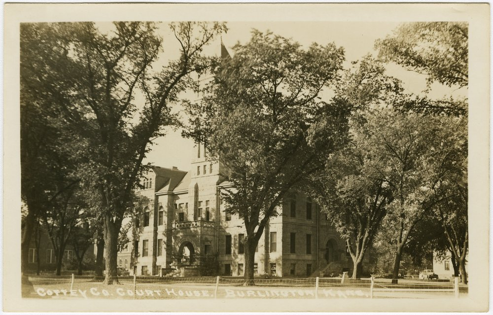 Coffey County courthouse in Burlington, Kansas - 1