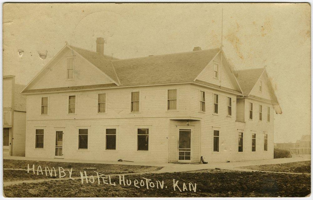 Hamby Hotel in Hugoton, Kansas - 1