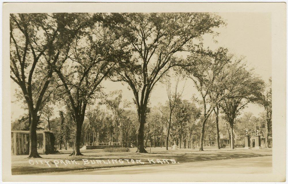 City park in Burlington, Kansas - 1