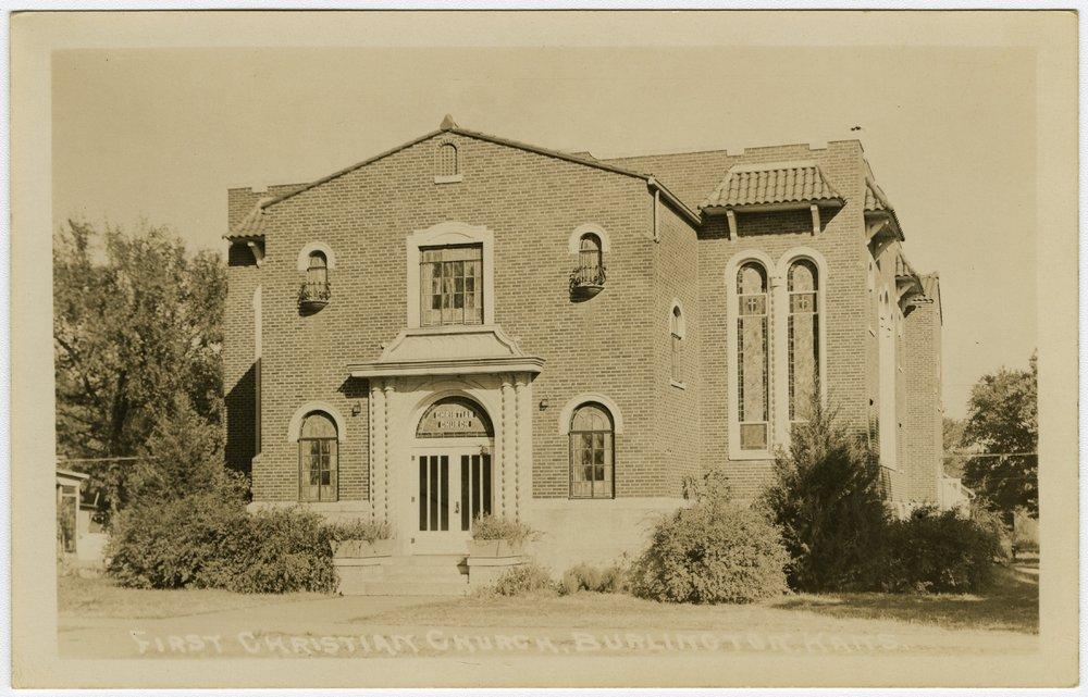 First Christian Church in Burlington, Kansas - 1