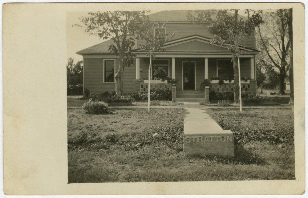 Stratton house in Hartford, Kansas - 1