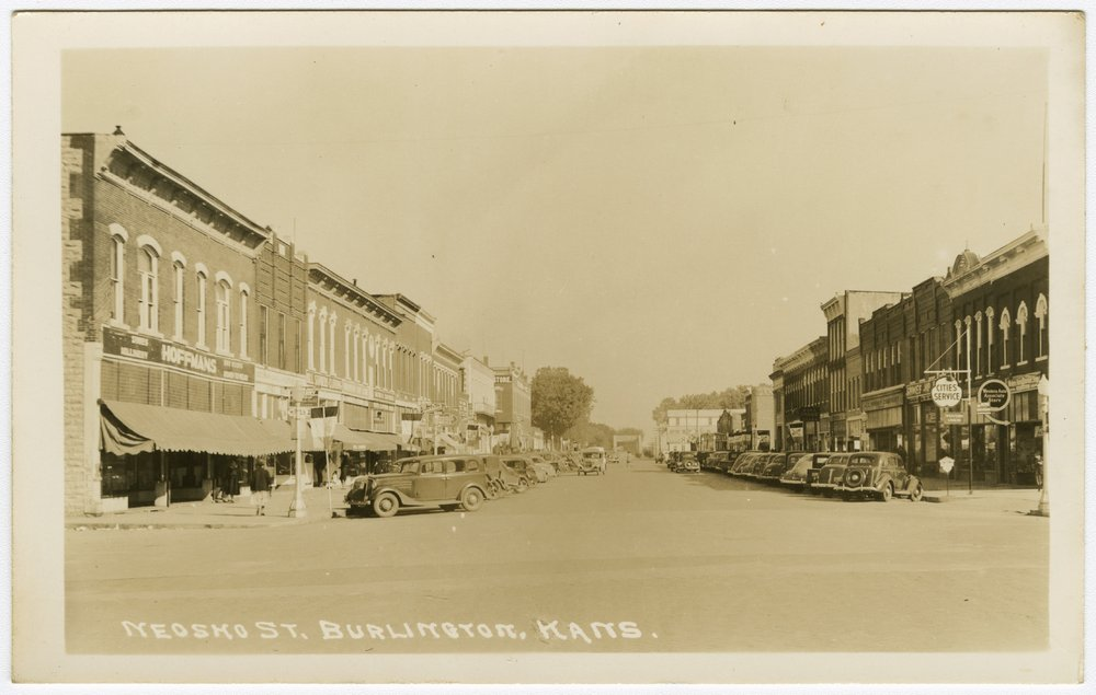 Neosho Street in Burlington, Kansas - 1