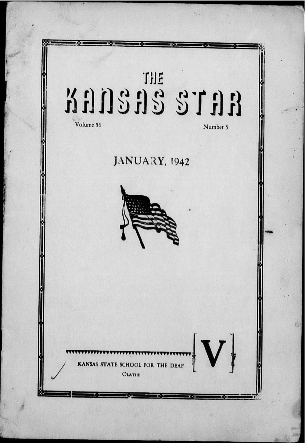 The Kansas Star, volume 56, number 5 - Front cover