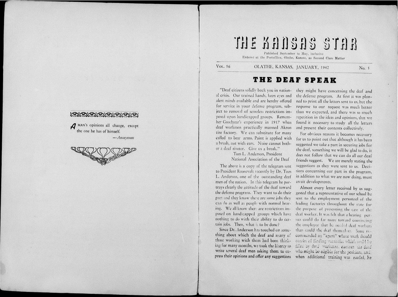 The Kansas Star, volume 56, number 5 - Inside cover-1