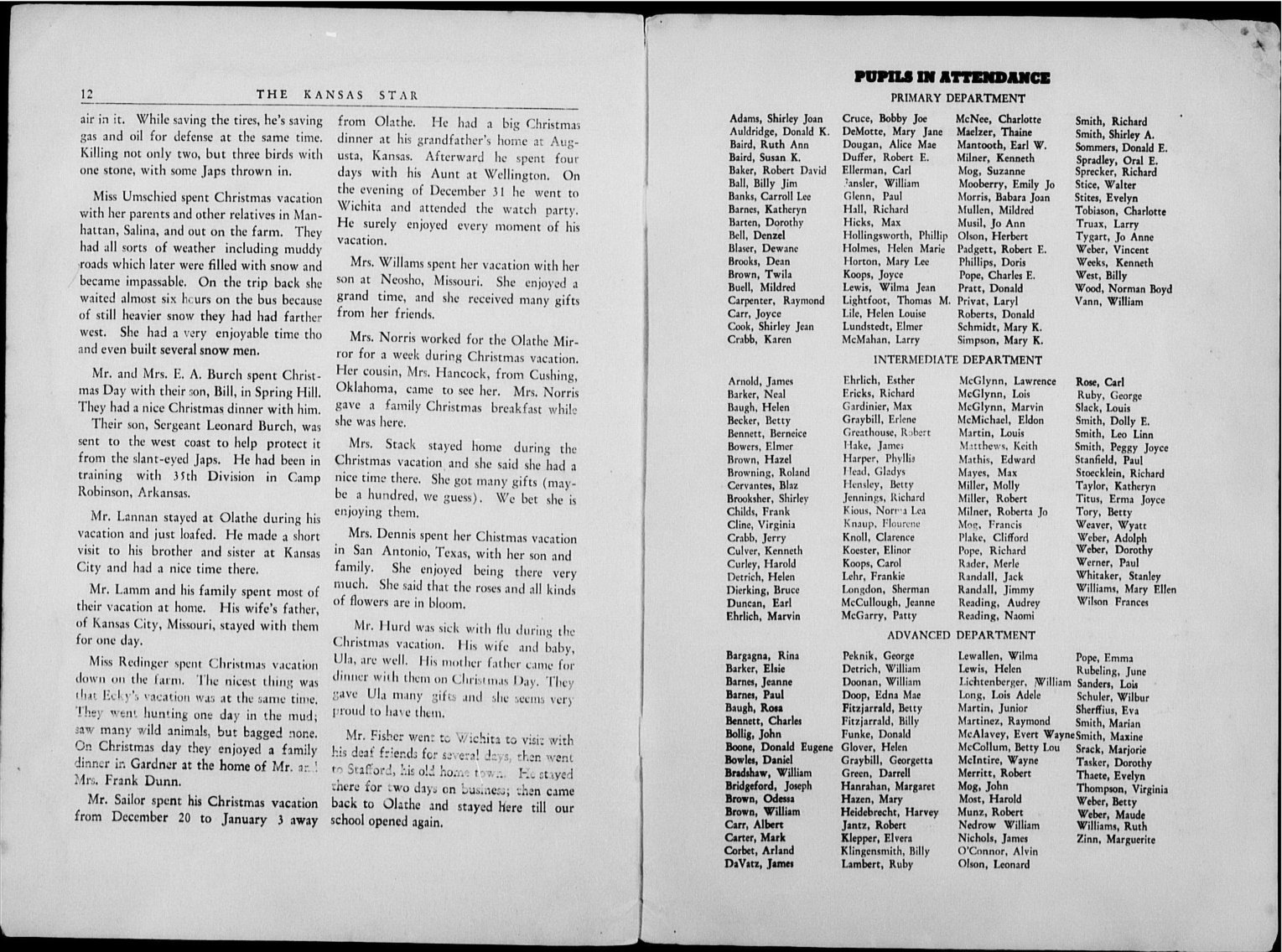 The Kansas Star, volume 56, number 5 - 12-Inside back