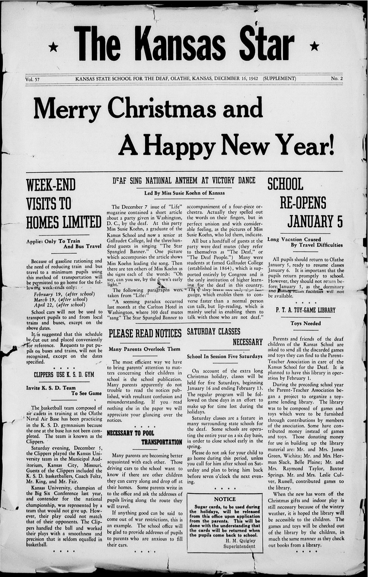 The Kansas Star, volume 57, number 2 - Front cover