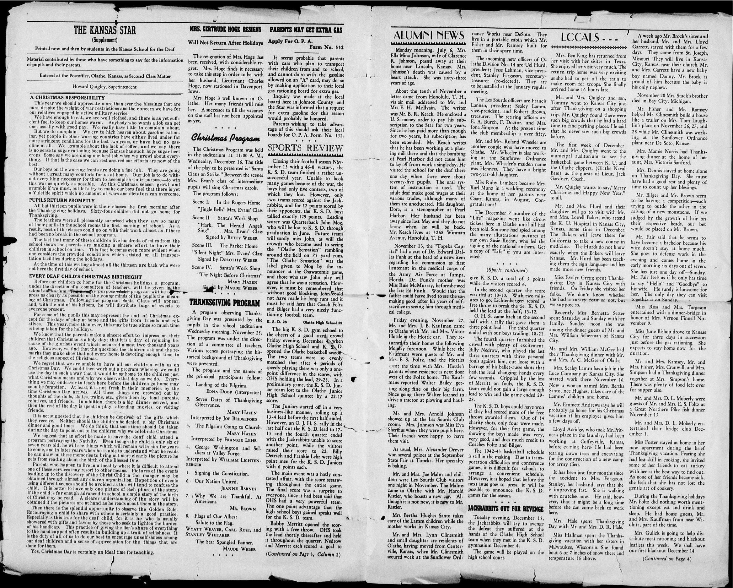 The Kansas Star, volume 57, number 2 - Inside