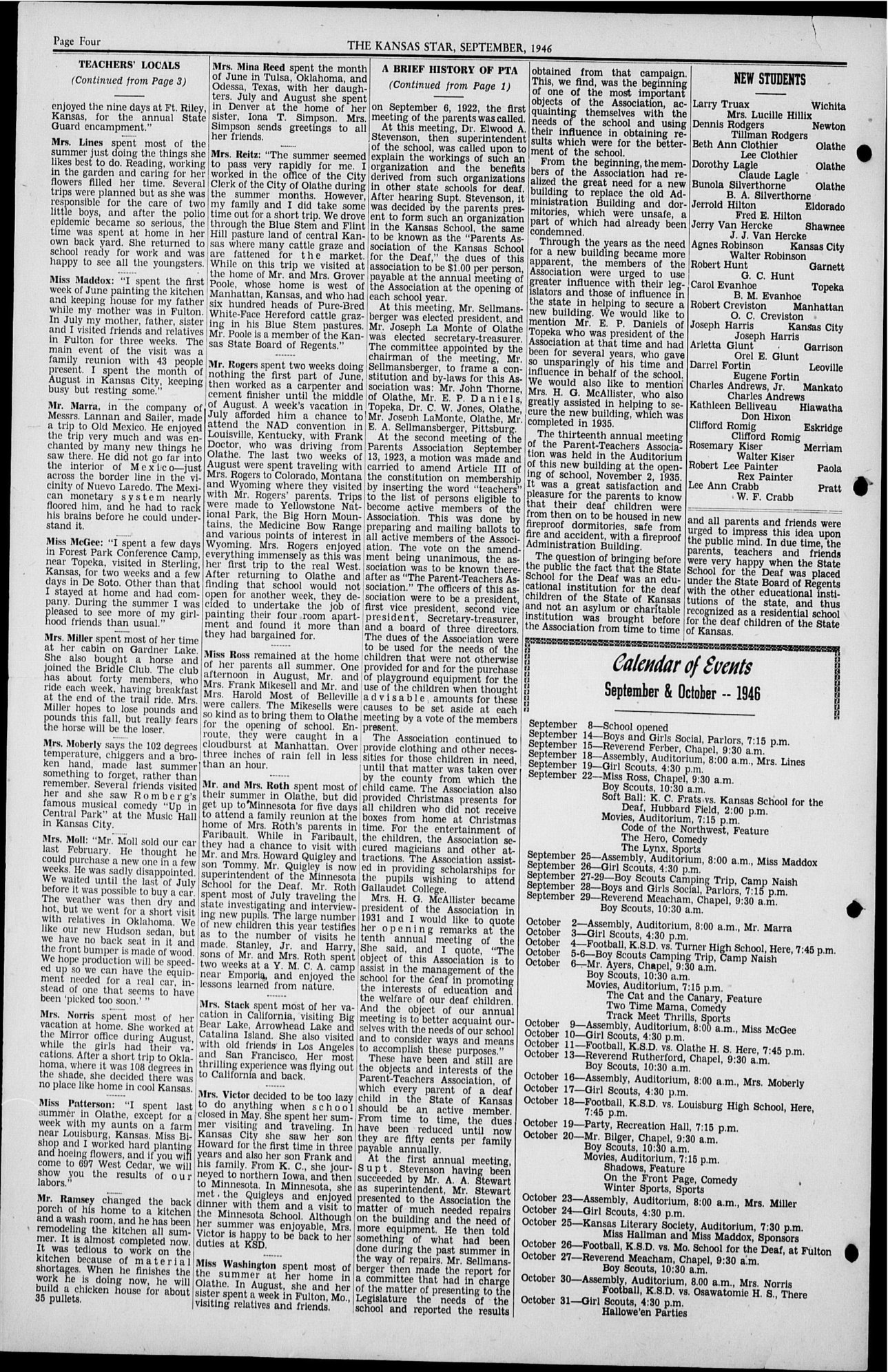 The Kansas Star, volume 61, number 1 - Back