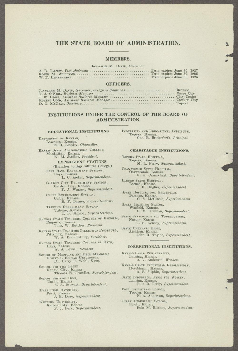 Biennial report of the Boys Industrial School, 1924 - 2