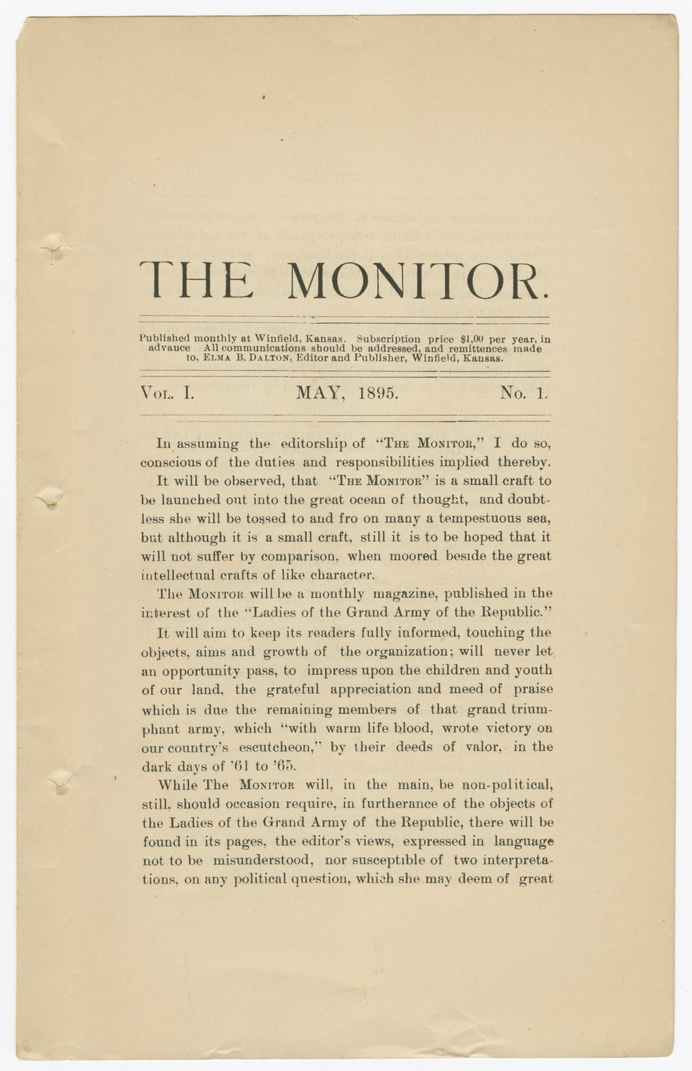 The Monitor - 1