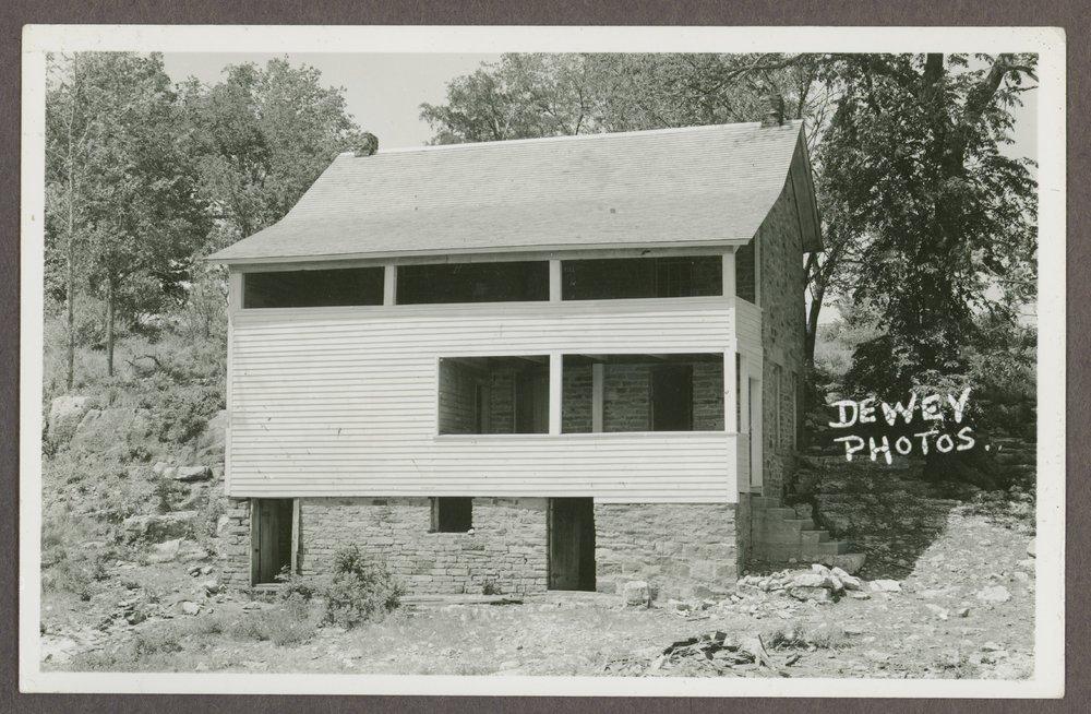 Charles Hadsall house at the Marais des Cygnes Massacre State Historic Site, Linn County, Kansas - 1 [*31]